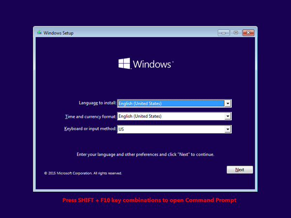 windows 10 password recovery iso download